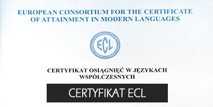 Certyfikat polski ECL