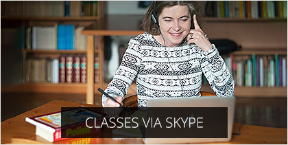 classes via skype