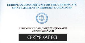 Certyfikat ECL